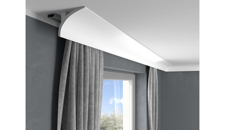 Curtain profile