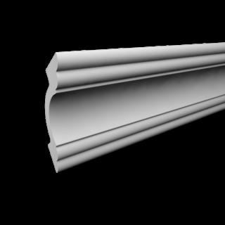 Kroonlijst P810 (53 x 50 mm), polyurethaan, lengte 2 m