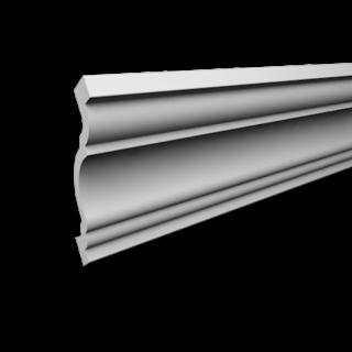 Kroonlijst P819 (68 x 68 mm), polyurethaan, lengte 2 m