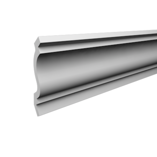 Kroonlijst P855 (91 x 91 mm), polyurethaan, lengte 2 m