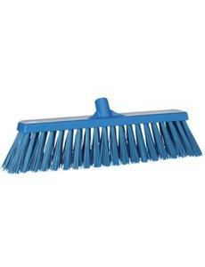 Vikan Harde Bezem Blauw 50 cm