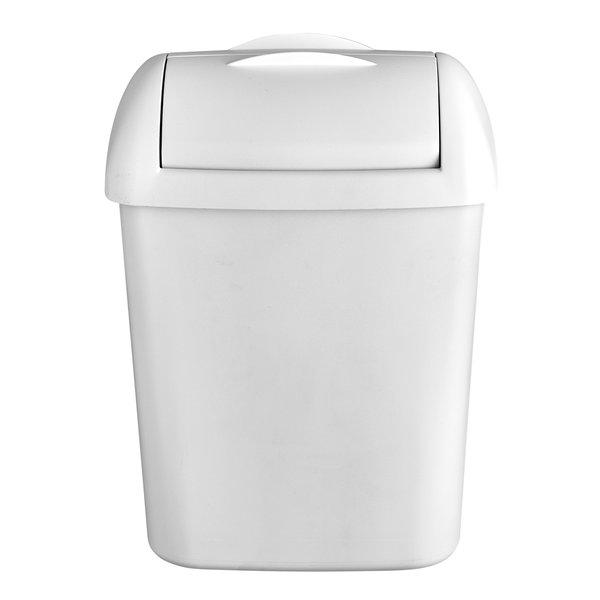 Euro Products Quartz White Hygiëne afvalbak 8 liter