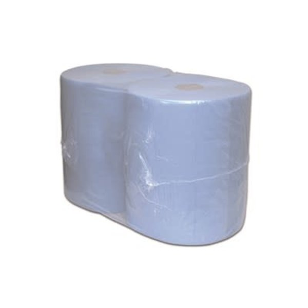 Euro Products Industriepapier Cellulose blauw 2 laags - 380 meter
