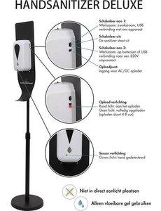 Desinfectiezuil met automatische sensor