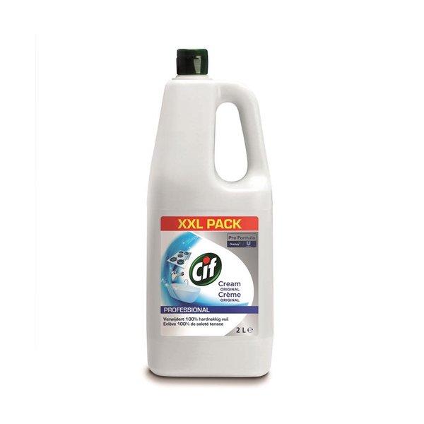Cif Pro Formula Cif Pro Formula Cream Original Schuurmiddel 2 L