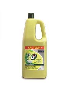 Cif Pro Formula Cif Pro Formula Cream Lemon Schuurmiddel 2 L
