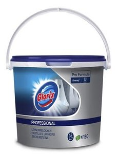 Glorix Pro Formula Urinoirblokken 150 st. Lemon