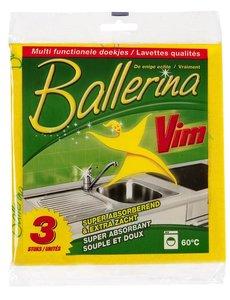 Vim Vim Ballerina Doekjes 3 st.