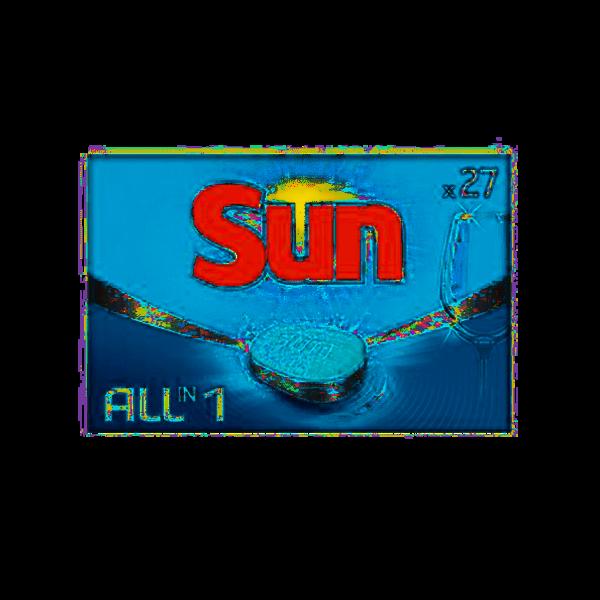 Sun Sun All-in-1 vaatwastabletten 27 st.