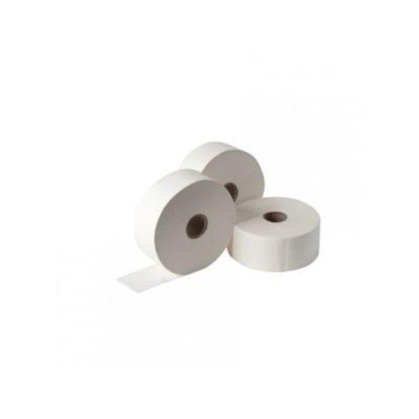 Abena Toiletpapier Wit Recycle 2-laags Jumbo Maxi pak à 6 rollen