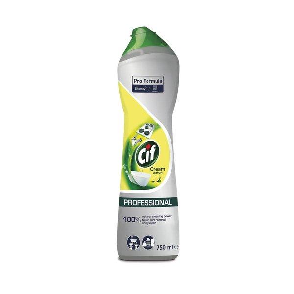 Cif Pro Formula Cif Professional Cream Lemon Schuurmiddel 750 ml