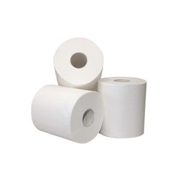 Euro Products Euro Poetspapier midi 2-laags Recycled Wit (met koker) 6 rollen
