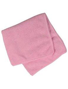Abena Microvezeldoek dik 40 x 40 cm. Roze/Rood pak à 10 st.