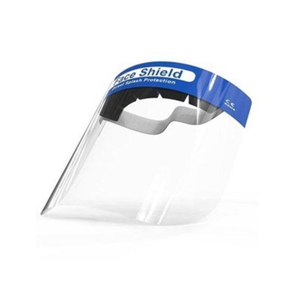 Gelaatscherm met elastische band