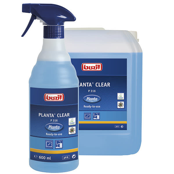 Buzil Planta Planta Clear P316 Onderhoud Reiniger