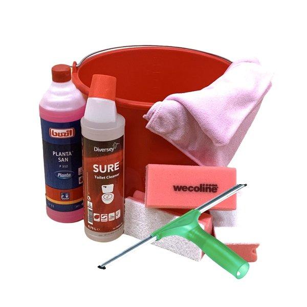 Sanitair Reiniging Set