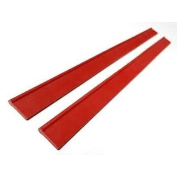 Razr Reserve Rubber Blade Red
