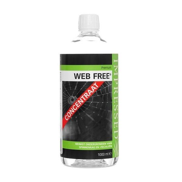 Impressed Web Free Concentraat - fles - 1 L