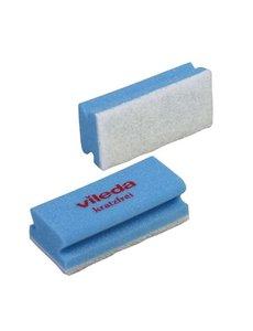 Vileda Schuurspons Blauw/Wit met Handgreep 10 st.