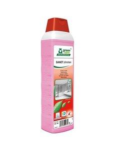 Green Care SANET Zitrotan Sanitairreiniger Fles 1L.