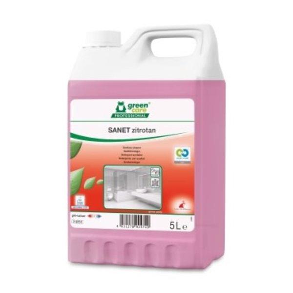 Green Care SANET Zitrotan Sanitairreiniger Can 5L.
