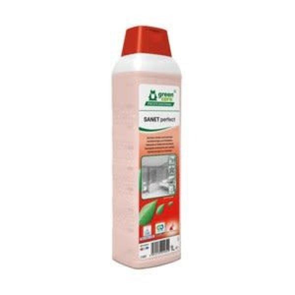 Green Care SANET Perfecte Sanitairreiniger & Ontkalker Fles 1L.