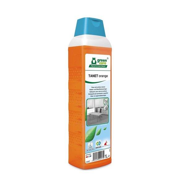 Green Care TANET Orange Allesreiniger Sinaasappelgeur Fles 1L.