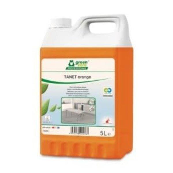 Green Care TANET Orange Allesreiniger Sinaasappelgeur Can 5L.