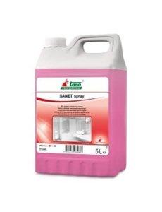 Tana SANET Spray Sanitairreiniger Can 5L.