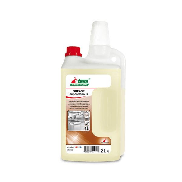 Tana GREASE Superclean C-Krachtige Cleaner Ontvetter Blikken Fles 2L.
