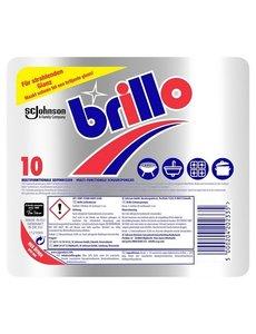 Brillo Brillo multifunctionele zeep schuurspons pak 10 stuks