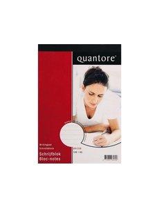 Quantore Quantore schrijfblok A5 gelinieerd 5 st.