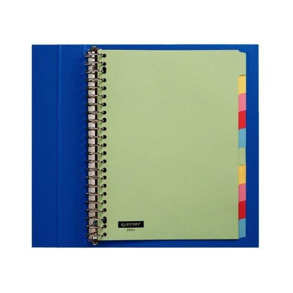 Quantore Quantore tabblad A4 karton 23-rings set 10 vel gekleurd