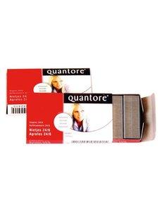 Quantore Quantore nietjes 24/6 Verzinkt. Pak 1000 stuks
