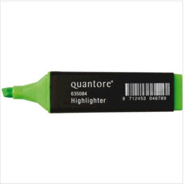Quantore Quantore markeerstift groen doos 10 stuks schrijfbreedte 2-5mm