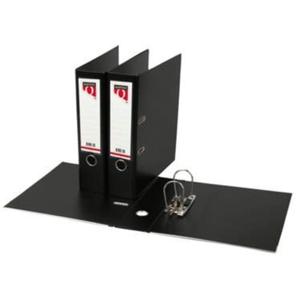 Quantore Quantore 2-rings ordner zwart A4, 80mm, PP