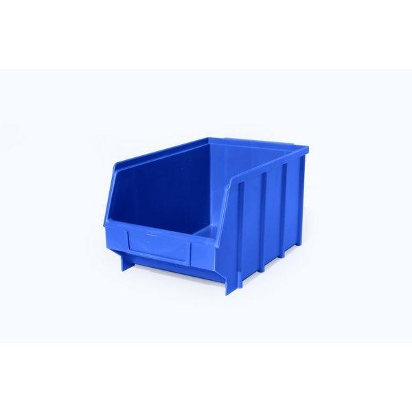 Stapelbak Blauw 350x210x160mm.