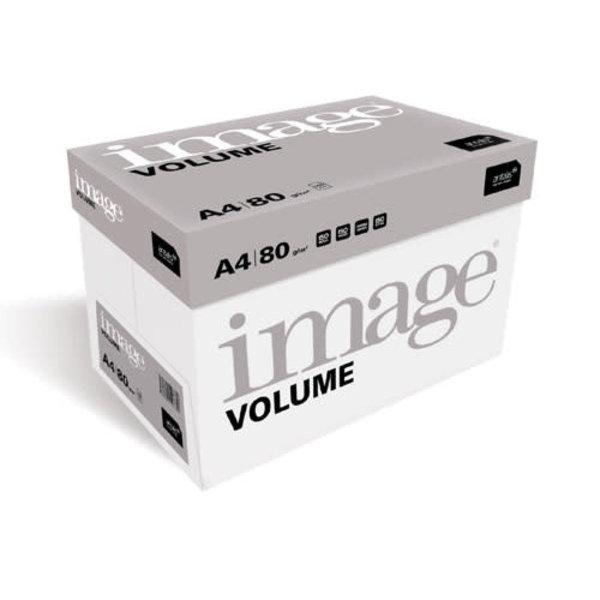 Image Kopieerpapier A4 80 gr wit, 210x297mm, doos 5x 500 vel