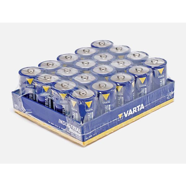 Varta Batterij Alkaline D LR20 1,5V 4020 Pak 20 stuks