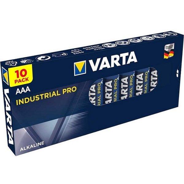 Varta Batterij Alkaline AAA LR03 1,5V Pak 10 stuks
