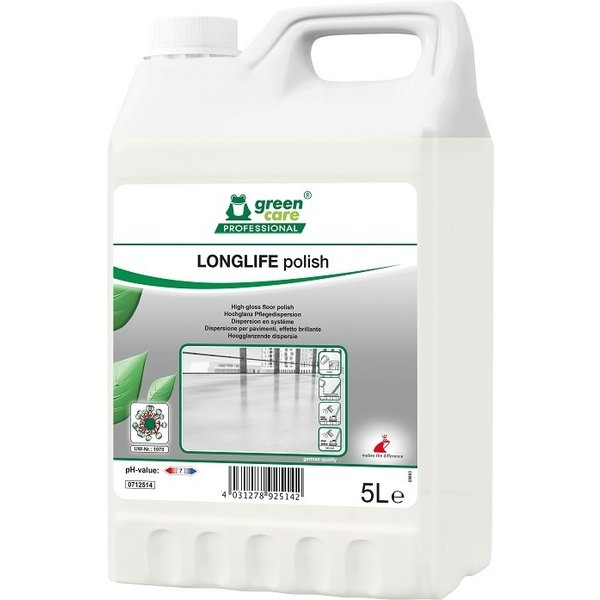 Green Care Longlife Polish vloerpolymeer can 5L