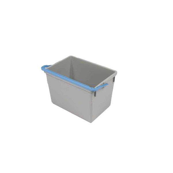 Numatic Emmer Kunststof Blauw Handvat 10 liter
