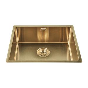 Gold spoelbak (50 x 40 cm)