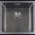 HotSpot Titanium RVS spoelbak (50 x 40 cm)