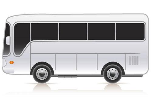Achteruitrijsystemen voor voor een bus