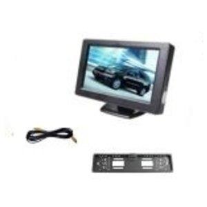 Achteruitrijcamera set voor personenauto of bestelwagen