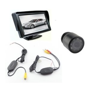 Draadloos camerasysteem met  4,3 inch monitor