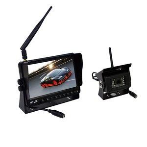 Digitaal draadloos 7 inch achteruitrijcamera systeem met 1 achteruitrijcamera