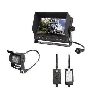 Draadloze  digitale set  met 1 achteruitrijcamera voor caravan