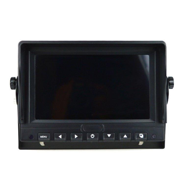 7 inch monitor met geluid